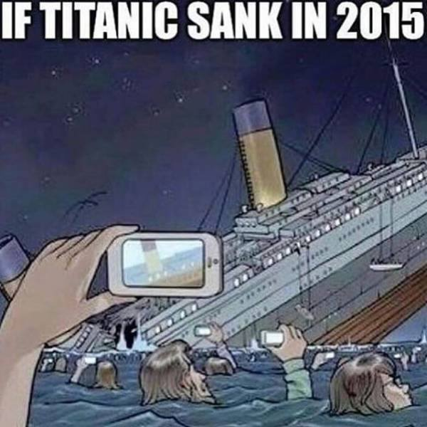 Titanic sinking 2015