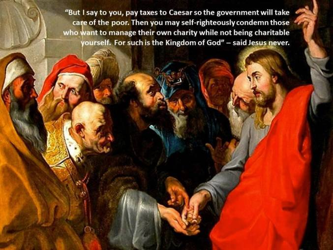 What Jesus didn't say about caring for poor