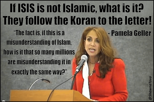 Pamela Geller on Islam