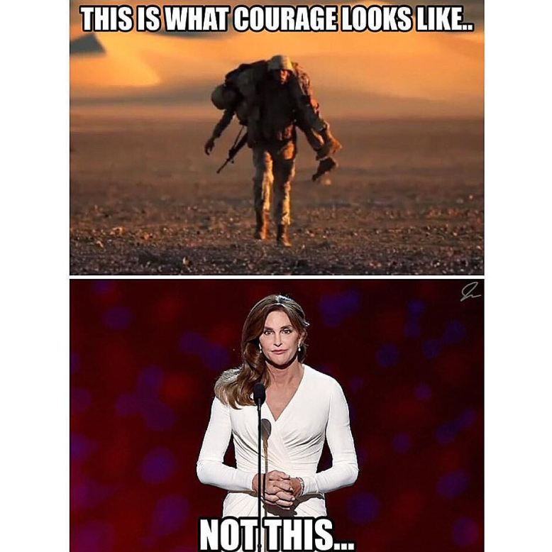 What courage looks like
