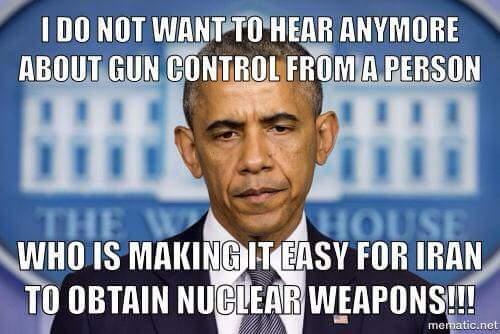 Obama gun control Iran