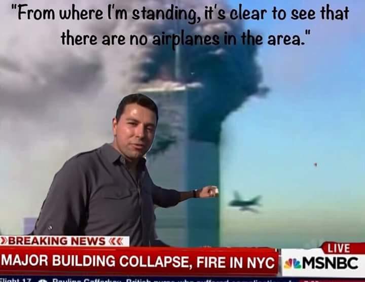 The modern media on 911