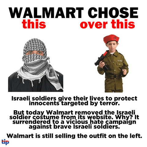 Walmart has an Israel problem
