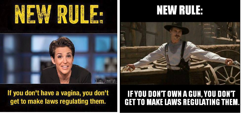 Who can make laws about things