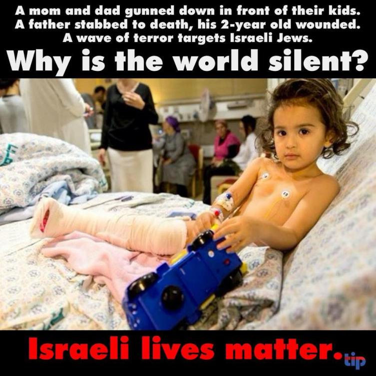 Why is the world silent about terrorism in Israel