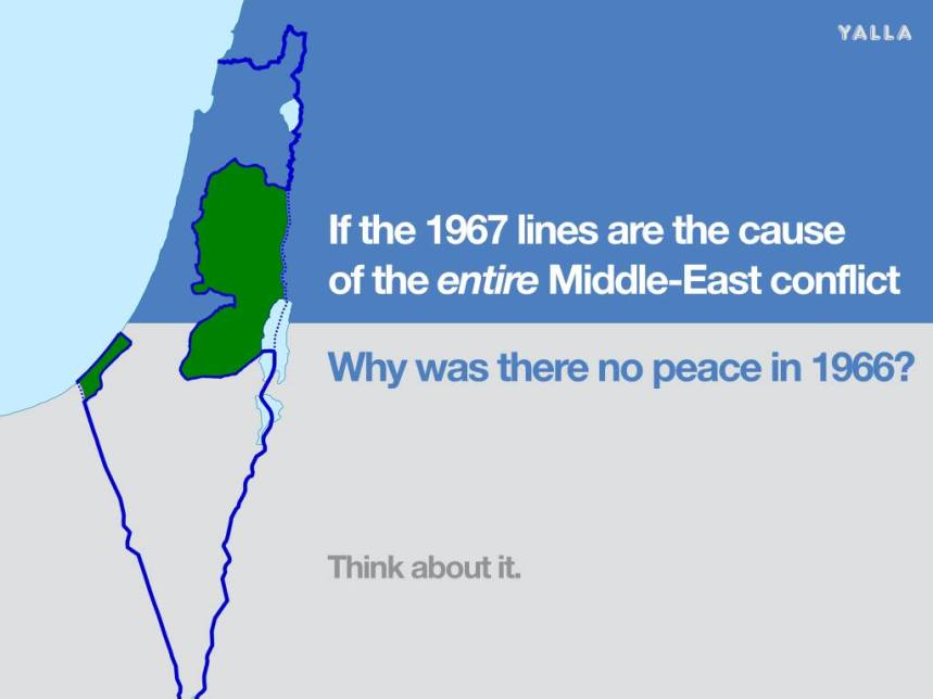 Why no peace in Israel in 1966