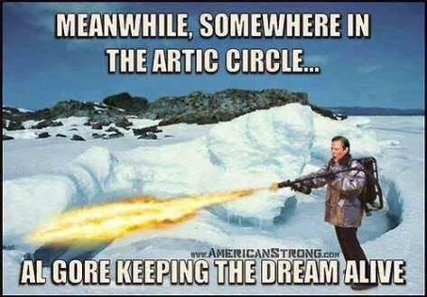 Al Gore keeping the dream alive