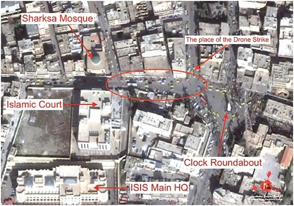 American intelligence about ISIS in Raqqa