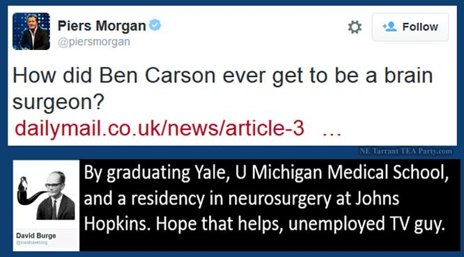 Ben Carson Brain Surgeon