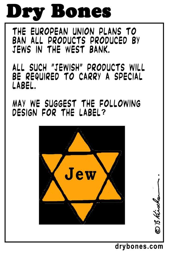 Europe labels Jews