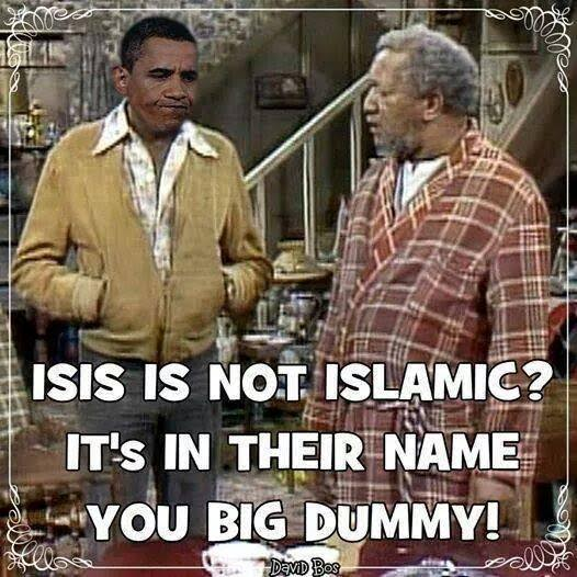 Fred Sanford and ISIS