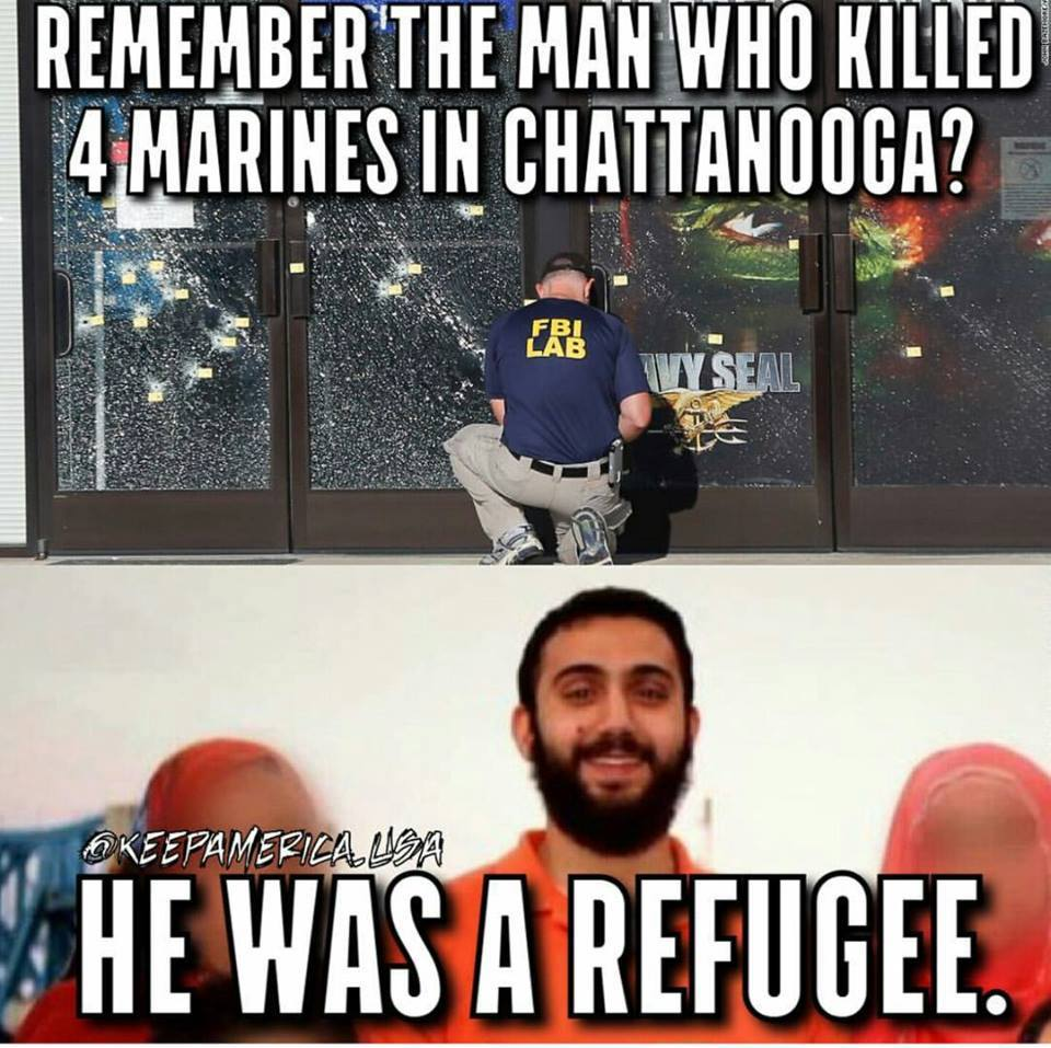 Marine shooter a refugee