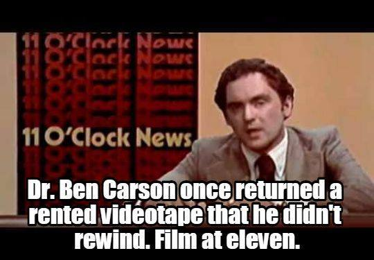 Media attacks on Ben Carson