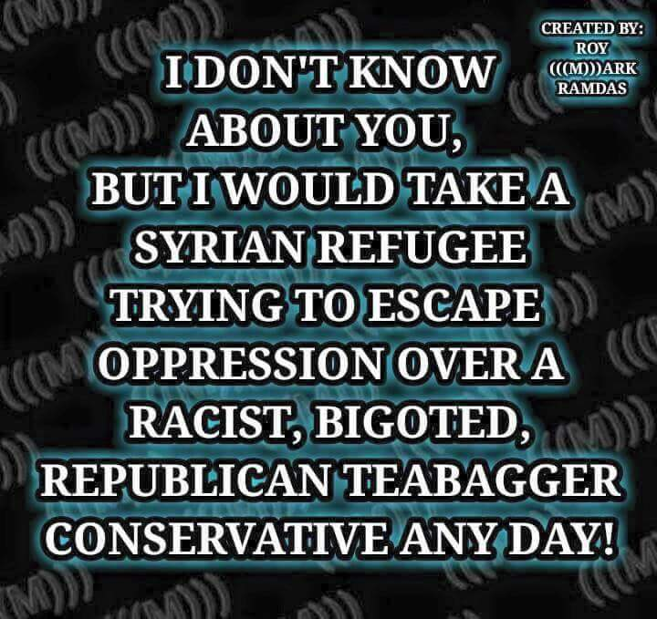 Would take Syrian over Republican