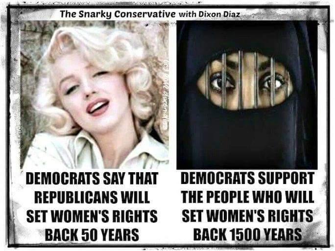 Democrats women's rights sharia