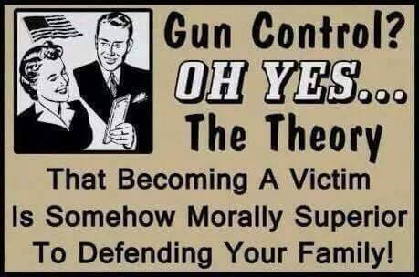 Gun control victim