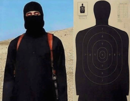 ISIS and shooting targets