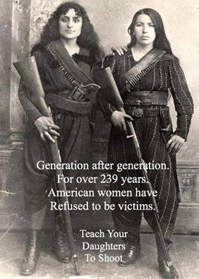 American women and guns
