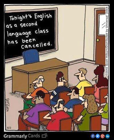 Cancelling English as a second language class