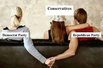 Conservatives Republicans Democrats