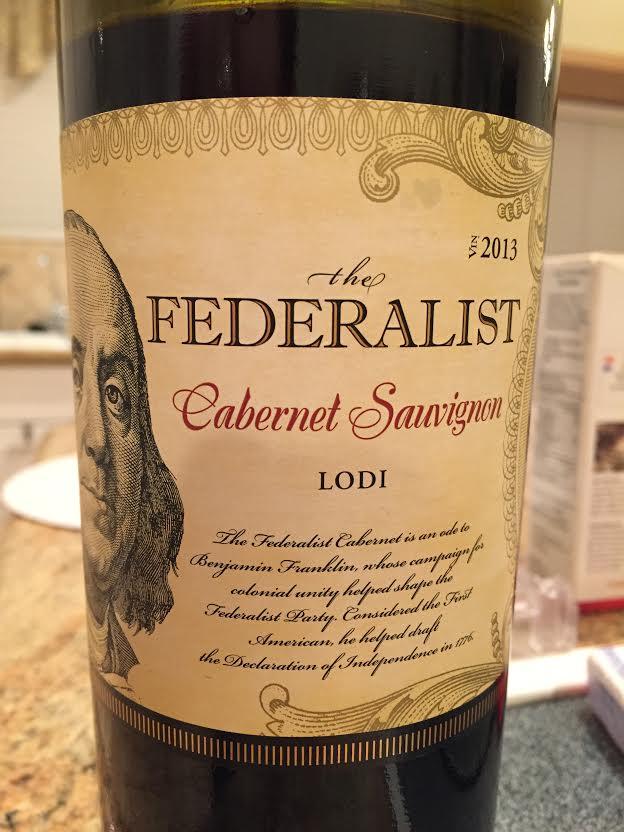 Federalist wine