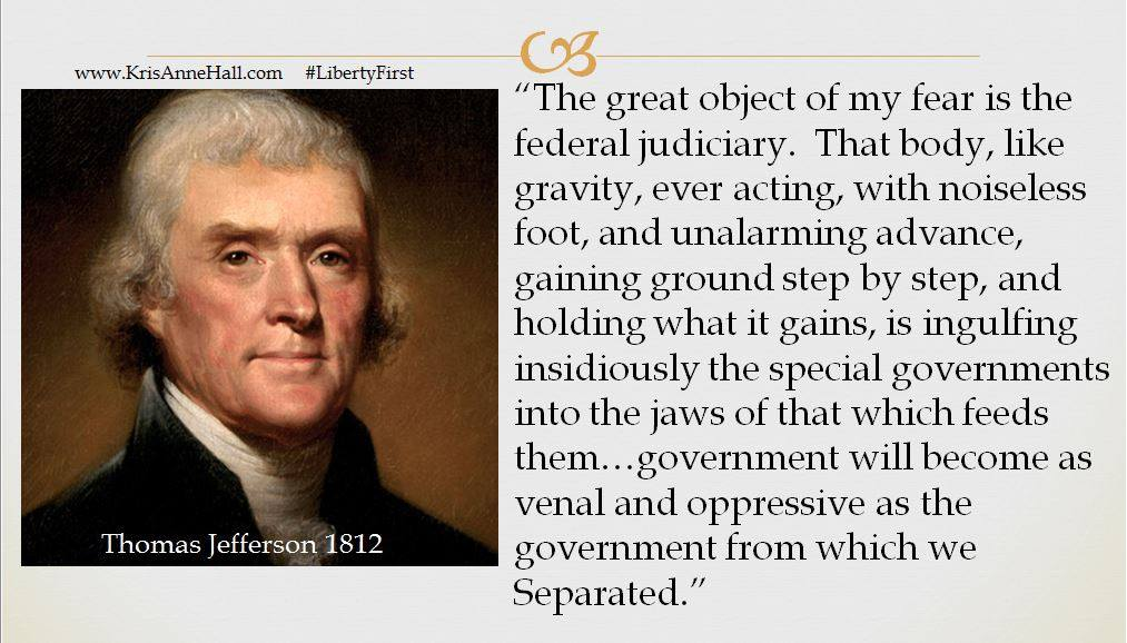 Jefferson on judiciary