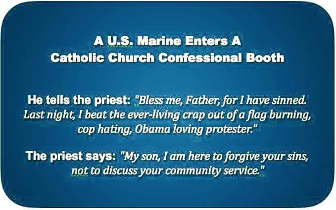 Marine and Priest agree