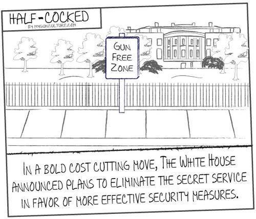 White House cost effective gun free zone