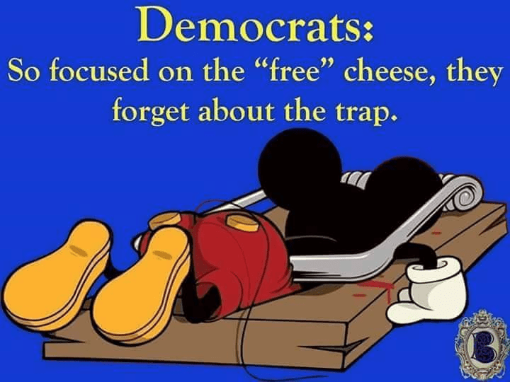 Democrats cheese trap