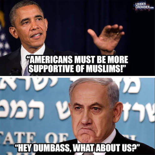 Obama on Muslims and Israel