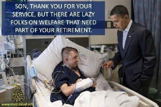 Obama veterans and free medical care for indigents