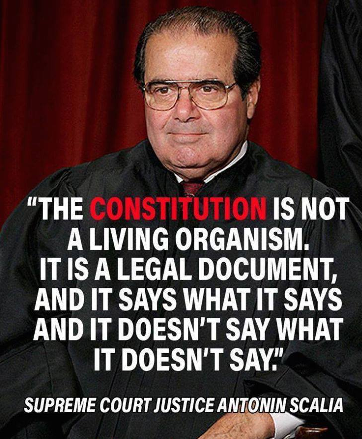 Scalia on the Constitution