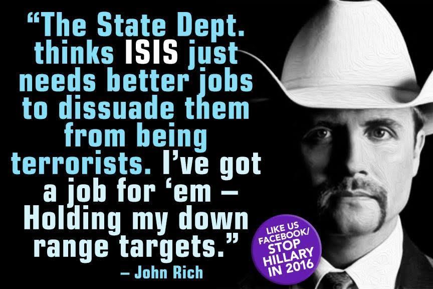 Job for ISIS holding down gun range targets