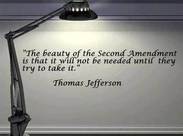 Second Amendment guns Jefferson