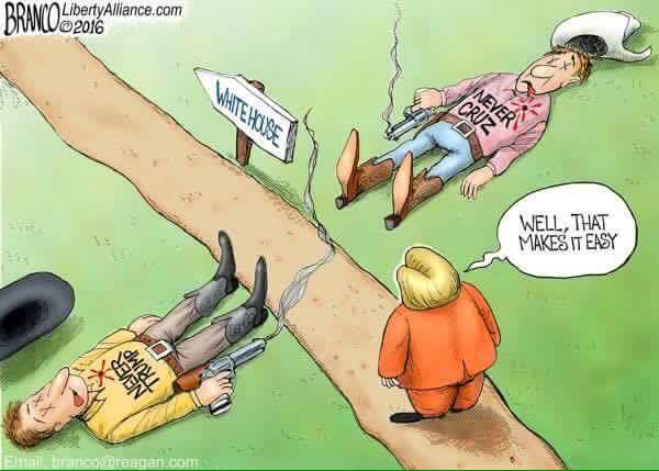 Hillary path to the White House