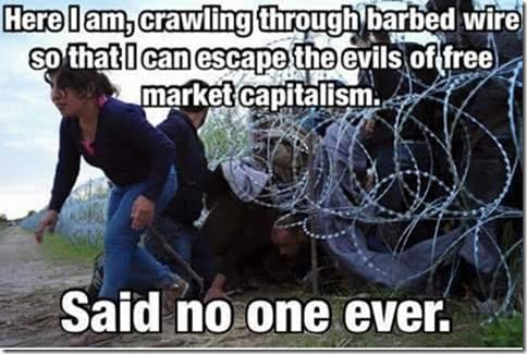 Socialism people try to escape