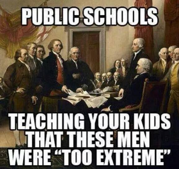 Stupid-liberals-public-schools-founding-fathers