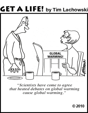 Climate change heated debates