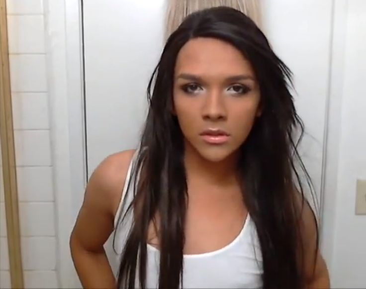 Feminine looking tranny