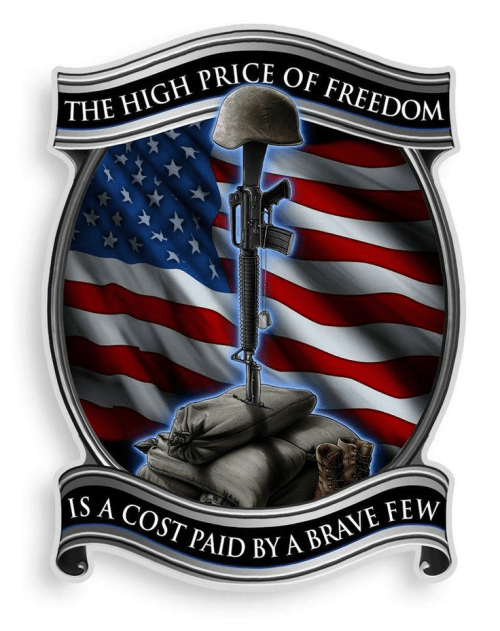 Military high price of freedom