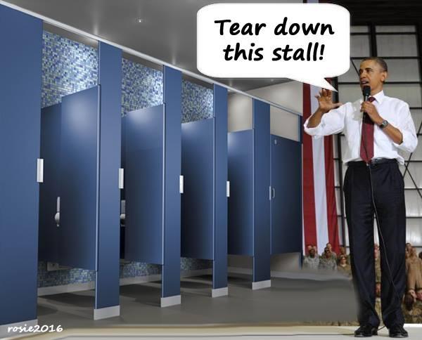 Description: Obama Bathroom Gender