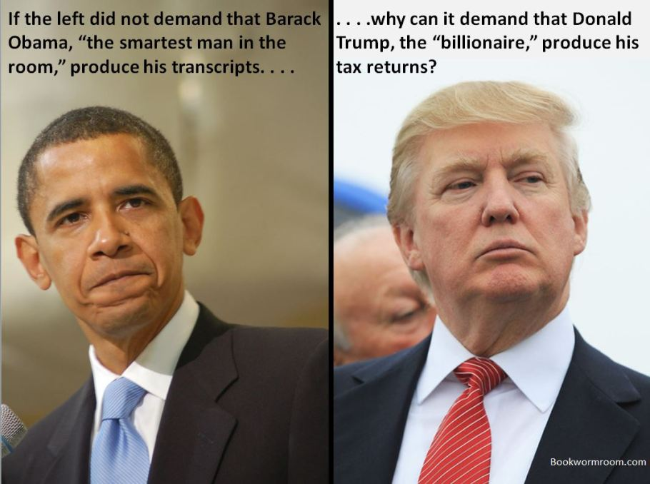 Obama Trump smart billionaire