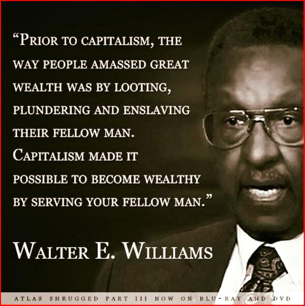 Wisdom Walter Williams on capitalism