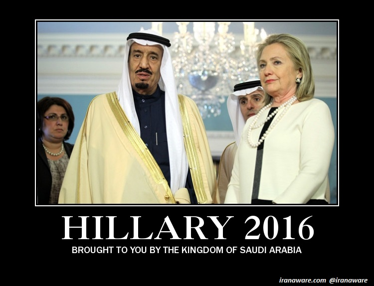 Hillary Clinton and the Saudis