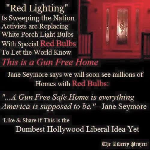 Guns red light homes