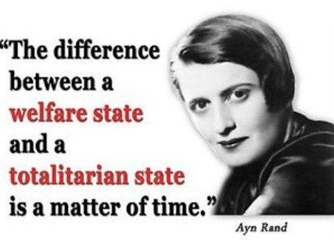 Wisdom welfare state totalitarian state
