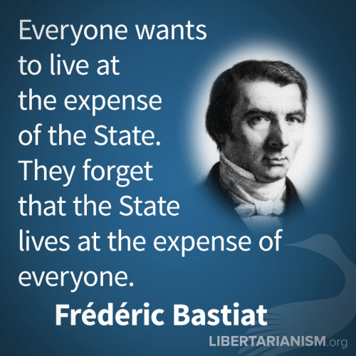 Government bastiat on welfare