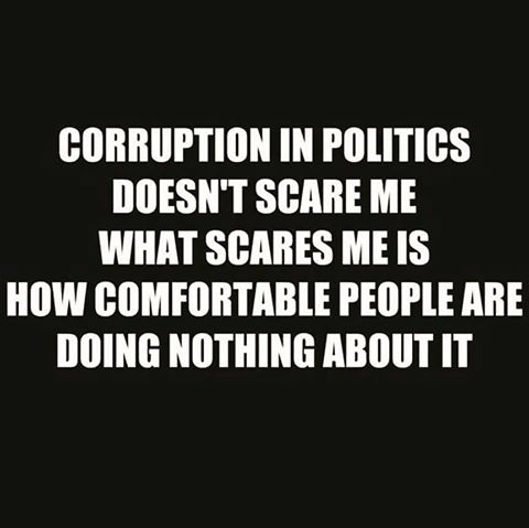 Government corruption
