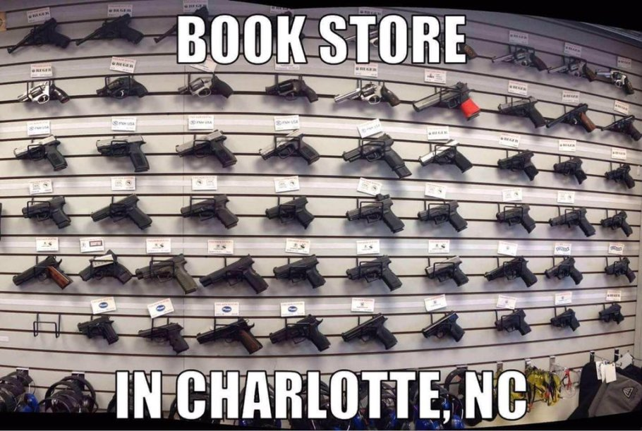 Gun book store in Charlotte NC