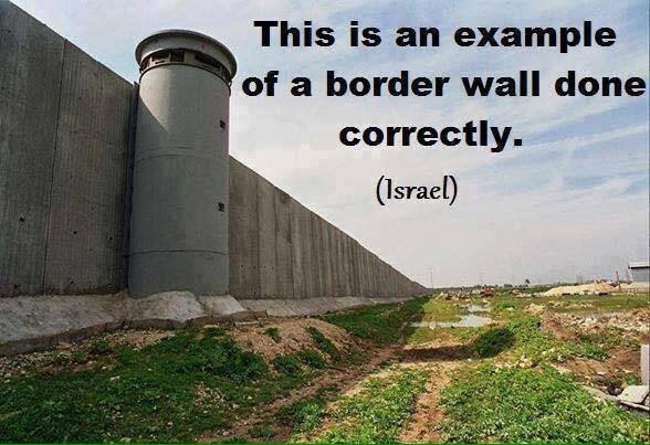 Immigration border wall Israel